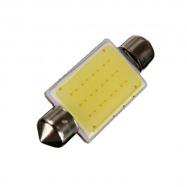 Lampada Led 42 mm Festoon COB 12 Chips 12 V LED