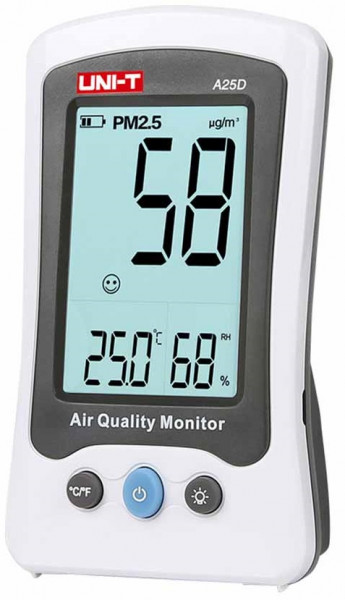Medidor PM2.5 (Qualidade do Ar) - UNI-T