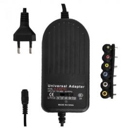 Alimentador Ajustável de 3V a 12V 3A máx. com saída USB