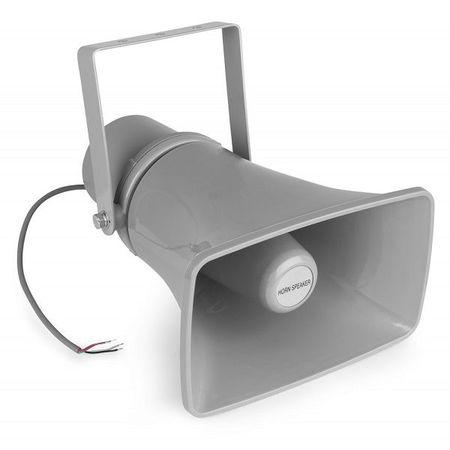 Corneta Exponêncial IP66 100V 20W (HS20) Cinzento - Power Dynamics