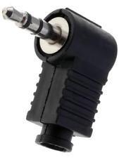 Ficha Jack Stereo 3,5mm Macho Curva
