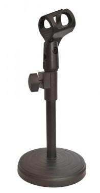 Suporte de Mesa Ajustável para microfone c/ Pinça incluída