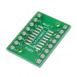 Adaptador IC 16 pinos SMD para Normal