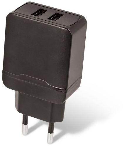 Alimentador/Carregador 2x USB 5V 2.4A Fast Charge - MAXLIFE