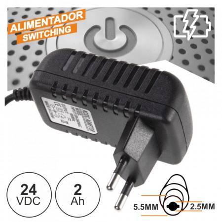 Alimentador Switching 24V 2A