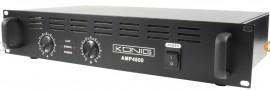 Amplificador PA 240W RMS classe A/B Konig