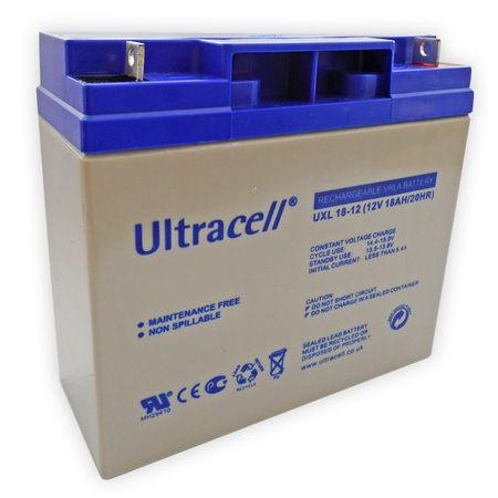 Bateria Longa Duração 12V 18Ah (181,5x77x167,5mm) - Ultracell