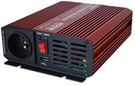 Conversor ONDA PURA 12V -> 220V 400W c/ USB - ProFTC