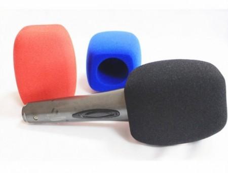 Esponja Grande Profissional p/ Microfone Mão - 4 Faces
