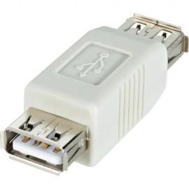 Ficha Adaptadora USB 2.0 Fêmea / Fêmea