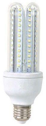 Lampada LED T3 2U 220V E27 6W Branco Q. 3000K 360º 450Lm