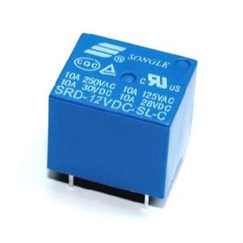 Relé p/ circuito impresso 12V DC