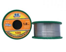 Solda para eletrónica 60/40 100g - 1 milímetro