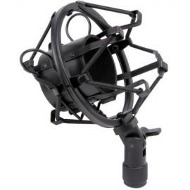 Suporte anti vibração para microfone do estúdio