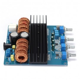 Amplificador 2.1 2X100W+1X200W RMS TDA7498 + TL072 Classe D