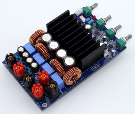 Aplificador Modulo 2.1 Alta potencia 600W RMS (1200W pico)