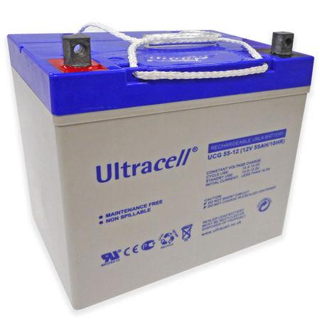 Bateria de Gel 12V 55Ah (229 x 138 x 209 mm) - Ultracell