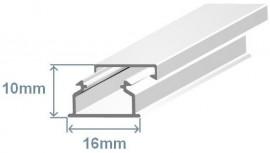 Calha tecnica 15X10MM branca (2 MTS)