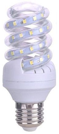 Lampada LED Espiral 220V E27 B5 7W Branco F. 6000K 360º 650Lm