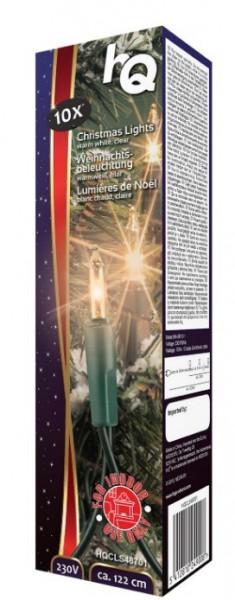 Luzes de natal 10 Lâmpadas