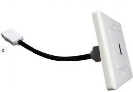 Tomada HDMI de Parede 1 Conector