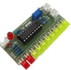 Vuímetro com 10 leds - Kit para montagem