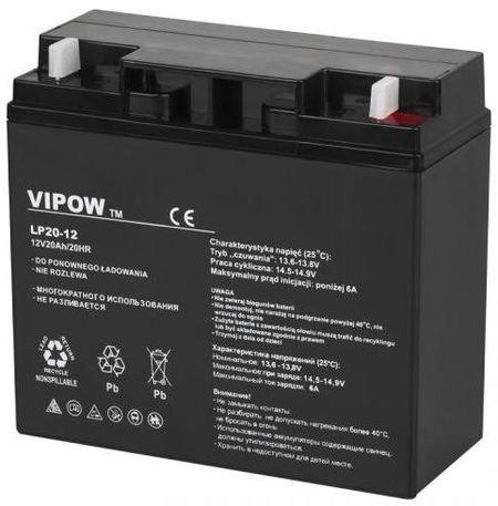 Bateria de Chumbo 12V 20Ah (181 x 77 x 167 mm) - VIPOW