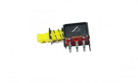 Interruptor comutador duplo de pressão On / Off para Painel