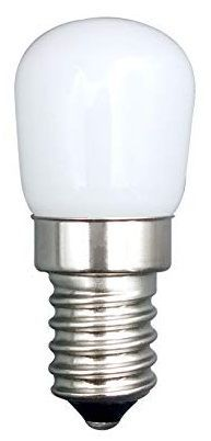 Lampada LED Frigorifico 220V E14 1,5W Branco 6000K 360º 135Lm