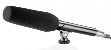 Microfone direccional entrevista instrumentos voz coros a condensador profissional (over head)