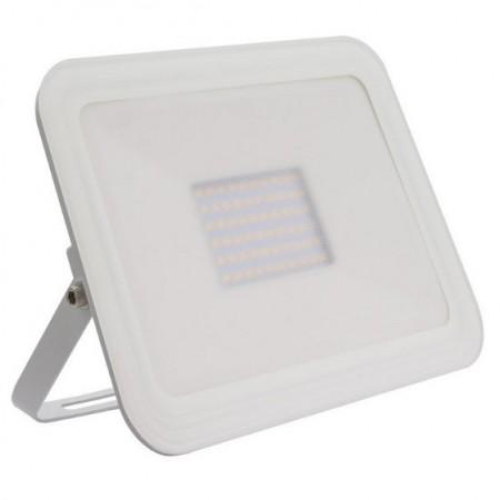 Projector LED Slim IP65 Branco Quente 3000K 10W (Branco)