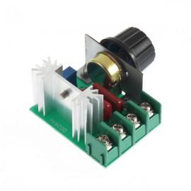 Regulador de Tensão 2000W AC 220 V para motor, resistencia etc