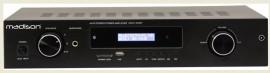 Amplificador Hi-Fi 2 x 180W RMS 3 Entradas USB/BT/FM - MAD1400BT-BK