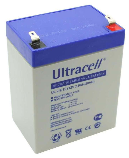 Bateria Chumbo 12V 2,9Ah (79 x 56 x 99 mm) - Ultracell