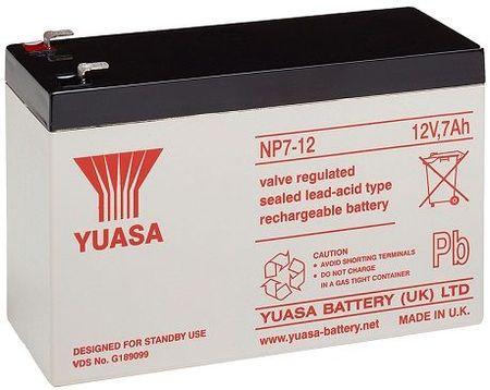 Bateria Chumbo 12V 7Ah (151 x 65 x 97,5 mm) - YUASA