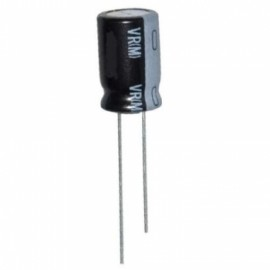 Condensador Eletrolítico 100uF 25V
