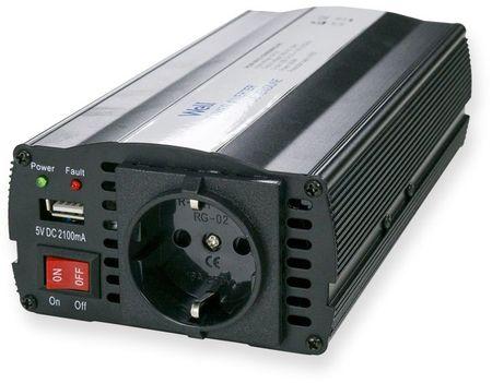 Conversor 12V -> 220V 600W c/ USB - WELL