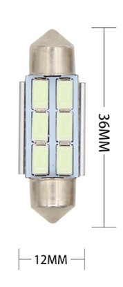Lampada Festoon CANBUS 36mm