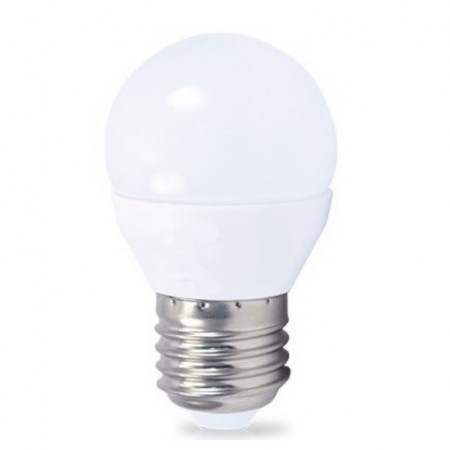 LAMPADA LED E27 220V 6W BRANCO NATURAL 4500K 480LM