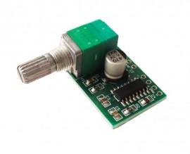 Mini Amplificador de áudio stereo 5W + 5W - 5V