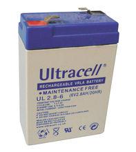 Bateria Chumbo 6V 2,8Ah (66 x 33 x 97 mm) - Ultracell