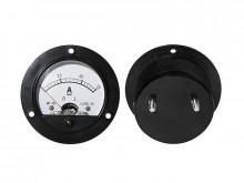 Amperimetro Painel 7.55A DC redondo