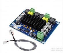 Amplificador Hi-Fi Classe D 240+240 W maximo com pré amplificador