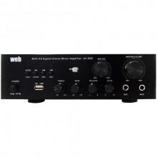 Amplificador Karaoke c/ USB / Bluetooth / FM 2x 80W - AV-500