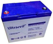 Bateria de Gel 12V 75Ah (258 x 168 x 208 mm) - Ultracell