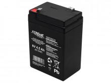 Bateria de gel 6V 4,5Ah
