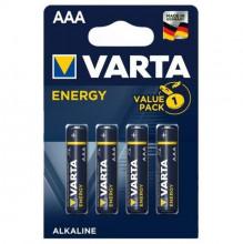 Blister 4 Pilhas Alcalinas 1,5V LR03 AAA - VARTA