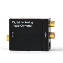Conversor Audio Digital para Analógico + Alimentador 5V