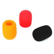 Esponja para Microfone Qualidade (preta vermelha ou laranja)