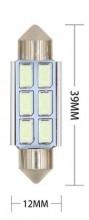 Lampada Festoon CANBUS 39mm